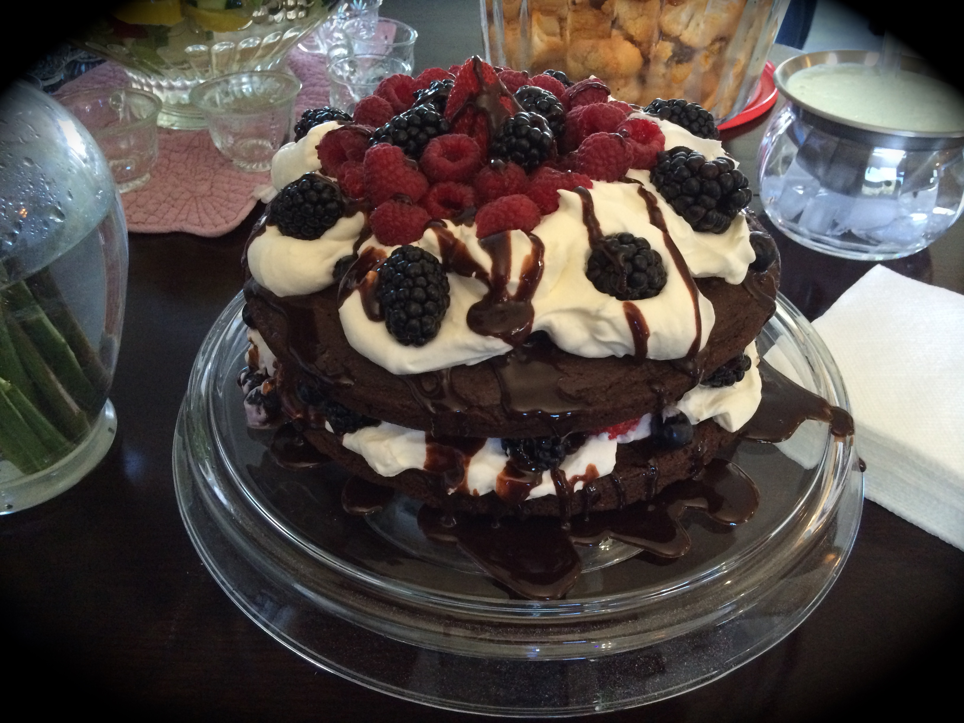 Recipes archives get lively now naked chocolate cake from food forumfinder Image collections