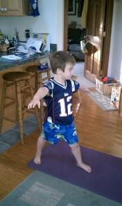 Brady Yoga Warrior